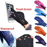 Sarung Tangan Motor Gloves Touch Screen Waterproof
