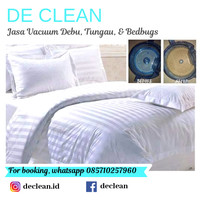 Vacuum bed cover / selimut queen size