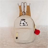 backpack mini tas ransel panda