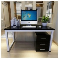 Promo meja kantor 100x60x70 meja kerja + stand monitor