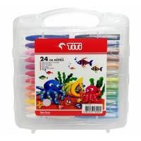 CRAYON TITI ISI 24 WARNA/oil pastel titi 24 warna/crayon 24 warna