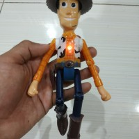 Action Figure Sheriff Woody Toy Story