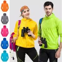Jaket Olahraga Running Sepeda Gunung - Windproof & Waterproof