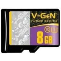 Memory Card Micro SD V-Gen Memori 8gb Class 10 Turbo Vgen Original