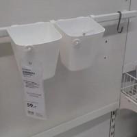 Produk Rel Gantungan Handuk Gantungan Lap Dapur Rail Putih Shabby Chic