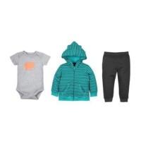 Promo NEW! Setelan Jaket Bayi 3in1 /Setelan Baju Bayi Anak Laki