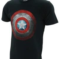 Kaos Baju Superhero Captain America Shield