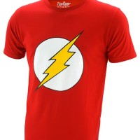 Kaos Baju Superhero The Flash - Red