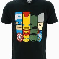 Kaos Baju Superhero Avengers - Squad