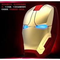 TaffWare Mouse Wireless Optical Iron Man 2.4Ghz - GFSK-M8 - Golden