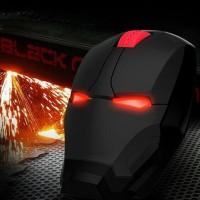 TaffWare Mouse Wireless Optical Iron Man 2.4Ghz - GFSK-M8 - Black