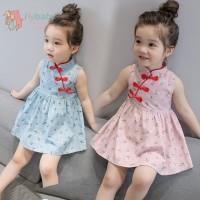 Baju imlek baby / baju imlek anak / Cheongsam dress anak 1-6 tahun. ID
