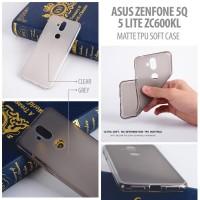 Asus Zenfone 5Q / 5 lite ZC600KL - Matte TPU Soft Case