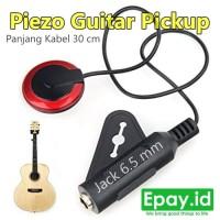 Mic Gitar / Pickup Guitar Piezo Transducer Sticker 3M Kalimba Ukulele