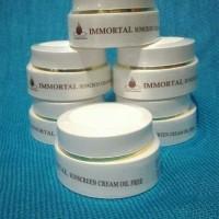 Immortal sunscreen cream oil free - suncare kulit berminyak