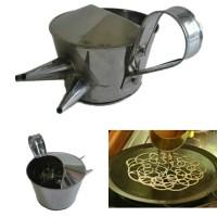 Supplier Grosir Cetakan Kue Roti Jala Bahan Stainless Steel Bagus