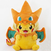 Boneka Pokemon Go Pikachu Charmander Charizard Boneka Impor