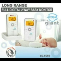 Limited Little Giant Baby Monitor Full Di gital 2Way