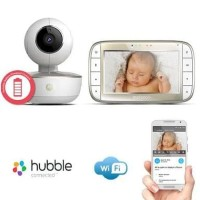Limited Motorola MBP855 Connect Video Baby Monitor Wi Fi Remote 5 Inc
