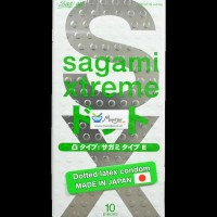 Kondom Sagami Xtreme Dotted - Isi 10