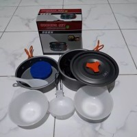 DO - Cooking Set Nesting SY 200 / Nesting Camping SY-200 + Bubble Wrap