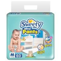 Sweety Silver Pants M 60