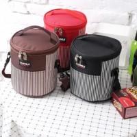 LUNCH BAG BOX - TAS PENGHANGAT MAKANAN - HOT/COOLER BAG - BULAT
