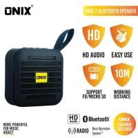 Onix Bluetooth Speaker MSB / Mini Square Box - High Definition Sound