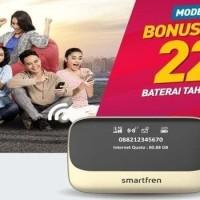 Mifi Modem Wifi Router 4G Powerbank Smartfren Andromax M5 BONUS KUOTA
