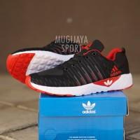 Sepatu Adidas Ultraboost Zoom Sport Hitam Putih MErah