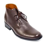 keve sepatu formal pria brown