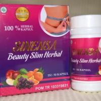 ASLI-Sinensa Beauty Slim Herbal Suplement Langsing BPOM