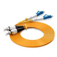 Vention IGG 3M Kabel Fiber Optic Patch Cord LC FC Duplex Single Mode