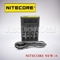 Authentic Nitecore New I4 Charger Baterai Vape 18650 26650 LG HG2 AWT