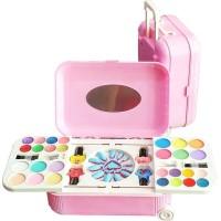 Mainan anak perempuan make up koper frozen nail art