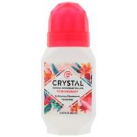 Crystal Body Deodorant Roll-On Pomegranate - 66ml