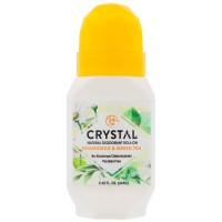 Crystal Body Deodorant Roll On Chamomile & Green Tea - 66ml