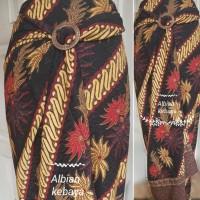 bawahan kebaya/rok lilit/ rok serut doby batik
