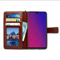 Flip wallet leather cover case casing kulit VIVO V 11 pro