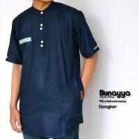 Kurta Indonesia Bunayya | Baju Koko | Gamis Pria | Baju Muslim Pria -