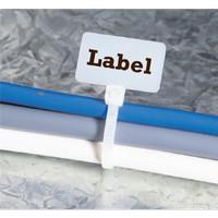 Kabel Ties Label 10cm Putih Isi 100