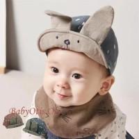 Rabbit Ear Hat Topi Anak Model Telinga Kelinci