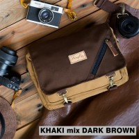 Tas Kamera Camera Bag Mirrorless DSLR Firefly Duncan Khaki Dark Brown