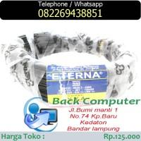 ETERNA CU/PVC NYA 1x1,5 SQMM 450/750 Watt 50 meter Kabel listrik hitam