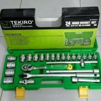 KUNCI SOK SET TEKIRO 24 PCS 8 - 32 BOX PLASTIK SOK SET TEKIRO 24PCS