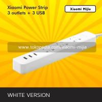 Stop Kontak Xiaomi Mi Smart Power Strip with 3 USB Port 2A - Putih