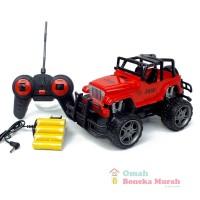 Mainan RC Jeep Off Road Remote Control ( M56M121123 ) - Merah