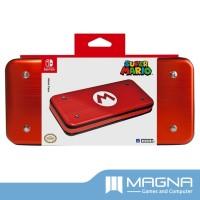 HORI Nintendo Switch AlumiCase Metal Vault Case - Super Mario Edition