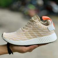 PROMO Adidas NMD R2 Beige Women / Sepatu Sneaker Wanita