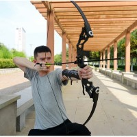 Busur Panah Professional Recurve Bow 30-45lbs Powerful Hunting Archery